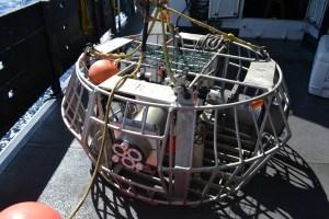Camera rig waiting deployment