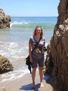Photo of me at Malibu Beach.