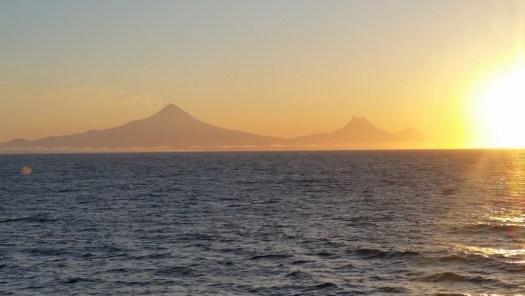 Unimak Island at sunrise
