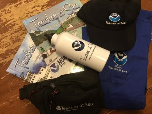 Teacher at Sea bling will come in handy on this June's cruise through the Florida Keys National Marine Sanctuary