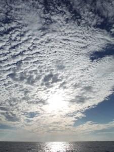 skies at sea