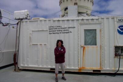 Dr. Taneil Uttal from ETL (Environmental Technology Lab) in Boulder, Colorado.
