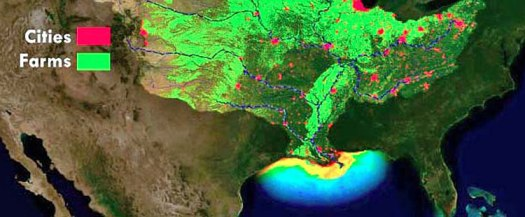 Runoff in the Mississippi basin