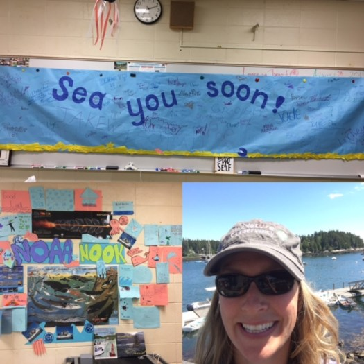 Teacher At Sea RMS send-off