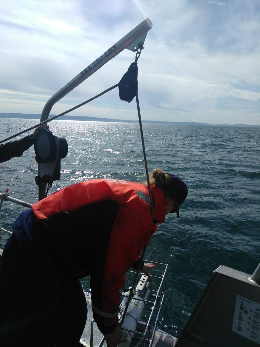 The Coxswain Helps Deploy the CTD