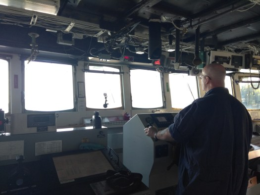 AB Carl Coonce at the Helm