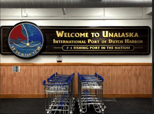 Unalaska Sign
