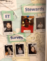 Pictures of ET, Stewards, Survey Techs