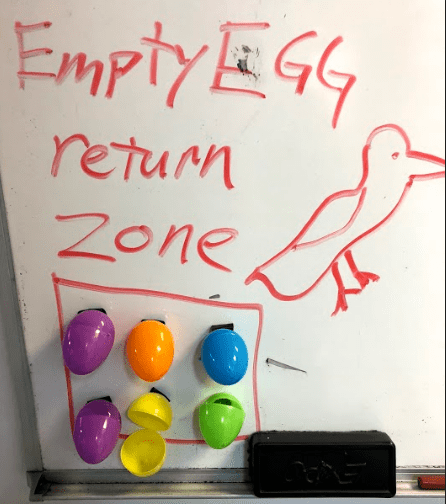 Easter Egg return zone