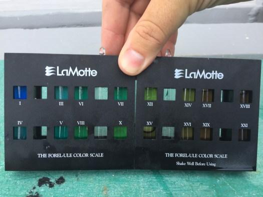 Forel-Ule scale