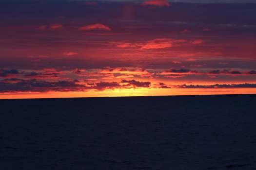 Sunrise on August 9
