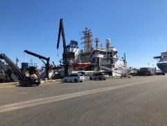 NOAA ShipBell M. Shimada at dock