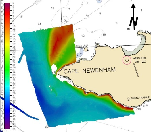 Cape Newenham surveyed
