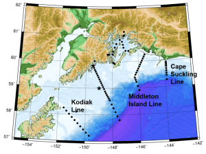 sampling station map