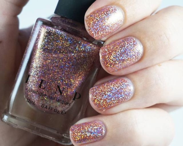 Swatch of ILNP that other girl with holographic effect showing