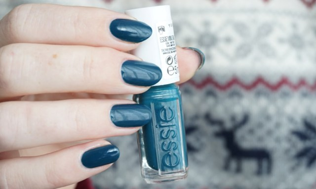 Swatch of Essie Satin Sister