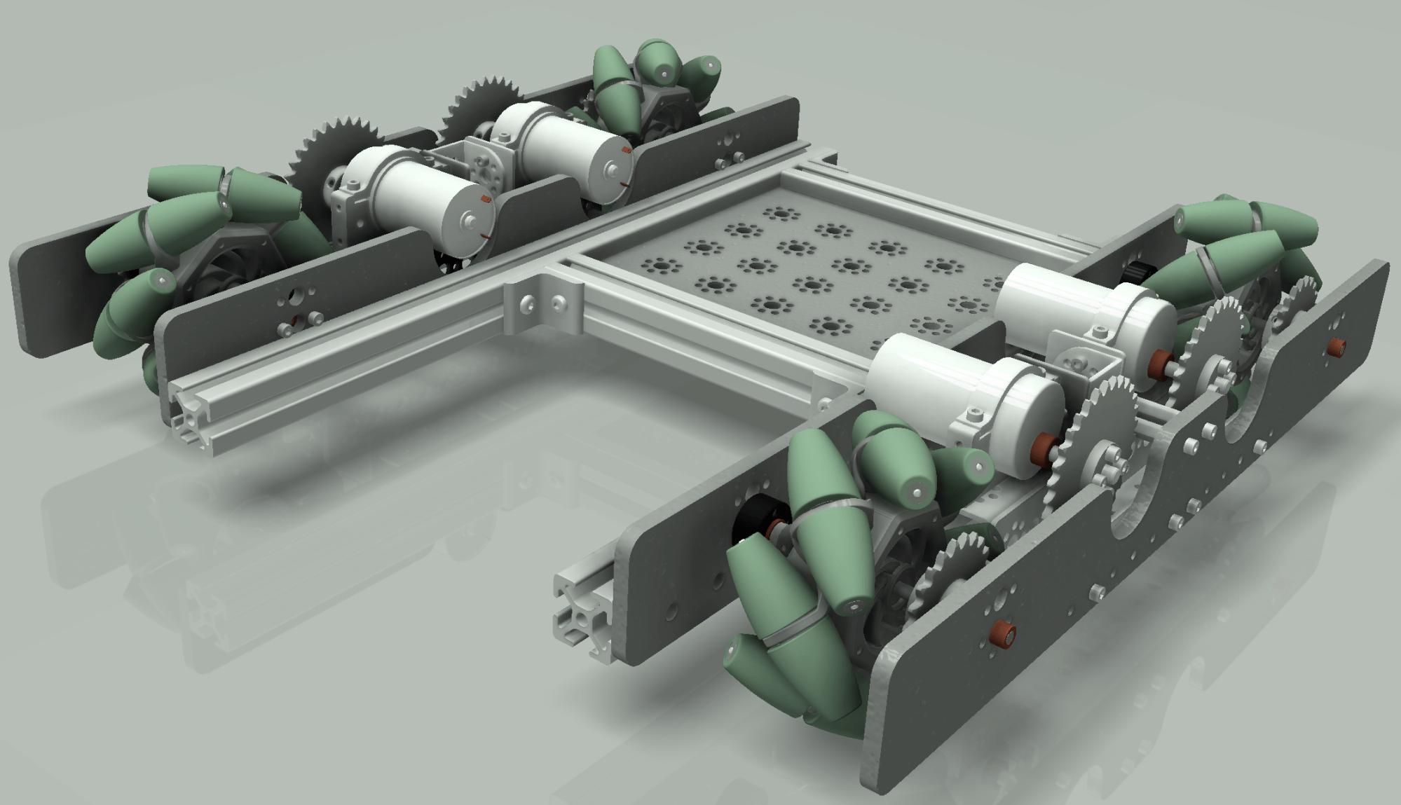 hight resolution of frc robot base