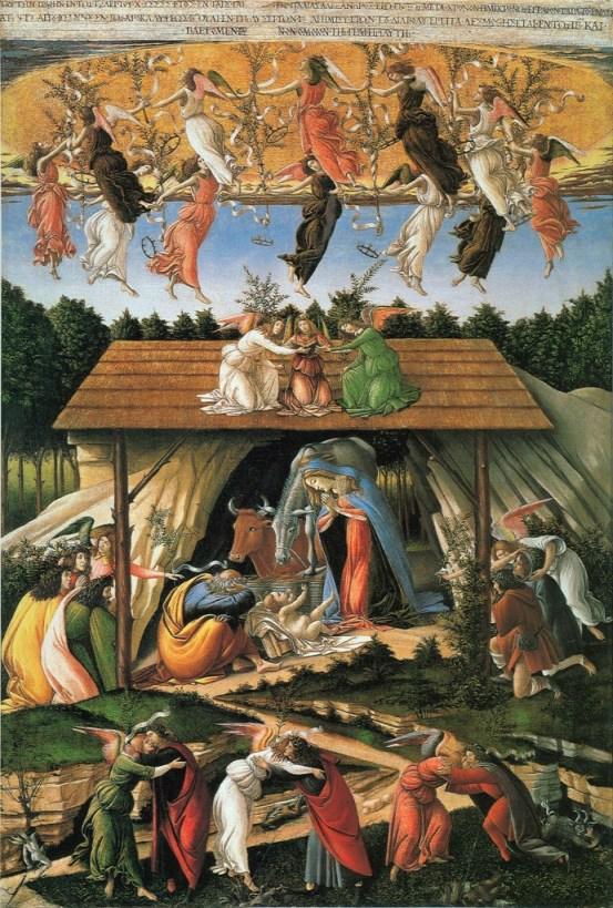 Botticelli's Mystical Nativity