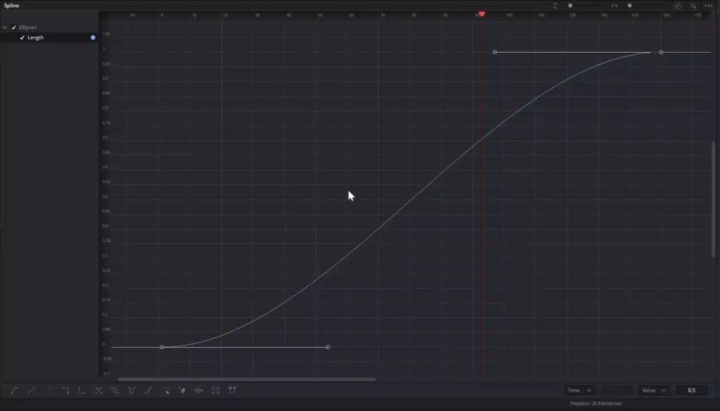 Fusion Spline Editor with Smooth or Bezier Spline