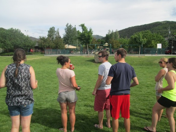 Bocce in the Park With U.S. Ski Team Athletes