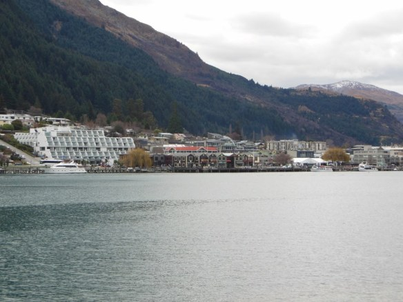 Lake and Downtown Queenstown