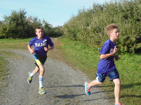 Fastest Kids in Grammar School Cross Country Race