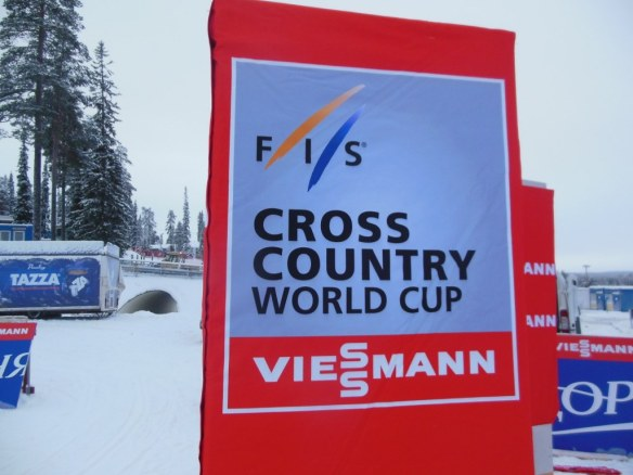 FIS Cross Country World Cup Banner