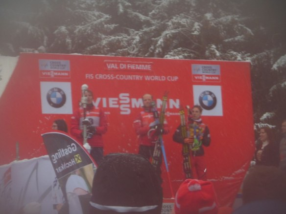 Foggy Men's Tour de Ski Podium
