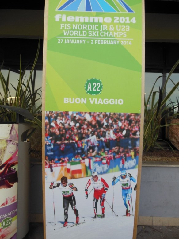 Nordic World Junior Championships Advertisement in Central Italy