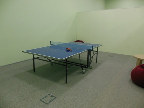 Ping Pong Table in Olympic Game Room
