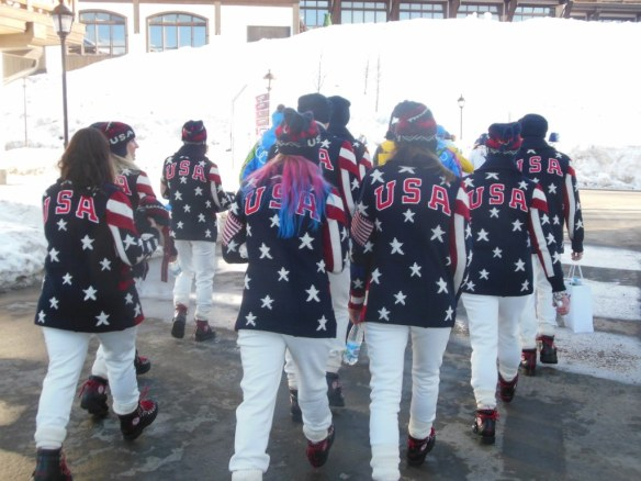 USA on US Olympic Opening Ceremonies Outfit