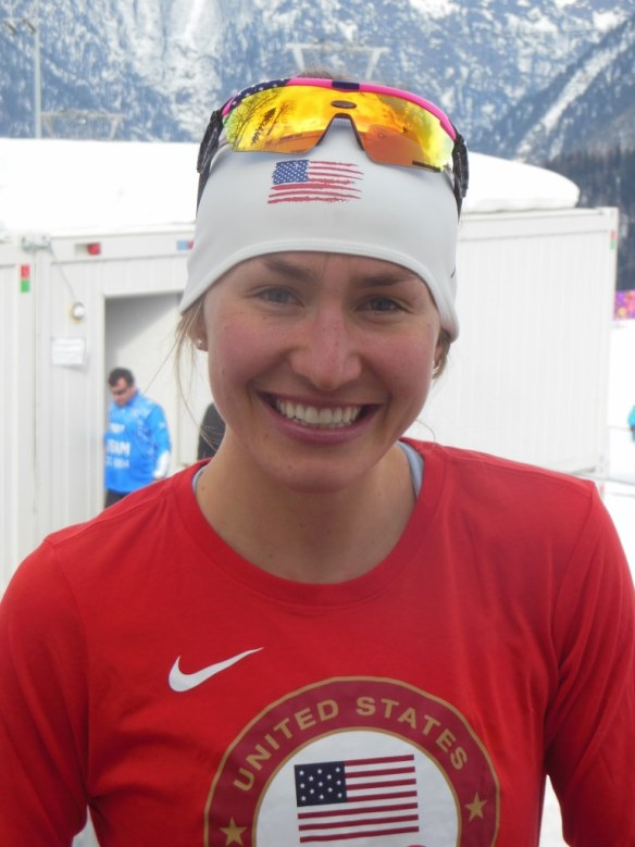 Sophie Caldwell Pre-Olympic Sprint Day