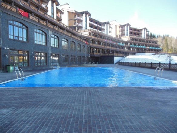 Outdoor Pool in Sochi Olympic Endurance Village