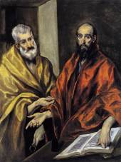 El Greco Peter and Paul