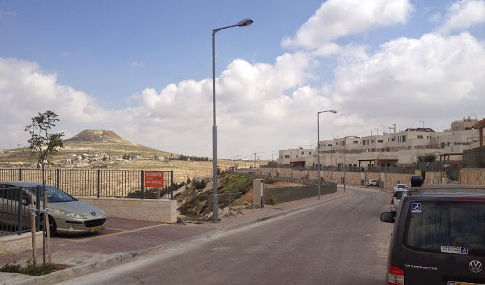 West Bank - Tekoa settlement