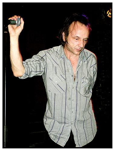 QUI @ La Maroquinerie (09 dec.2007) : David Yow