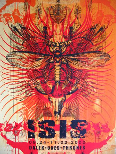 SELDON HUNT Isis poster