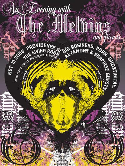 SELDON HUNT Melvins poster