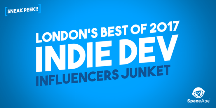 Space Ape Games Londons Best of 2017 Indie Dev Influencers Junket