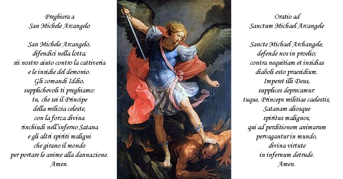 Perch L8 Maggio Festa Di San Michele Arcangelosi Fa La