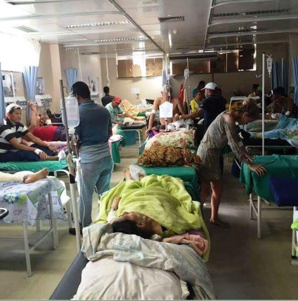 Imagens do interior do hospital