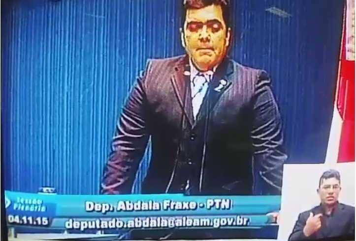 Deputado Abdala Fraxe nega ofensas a Deputada
