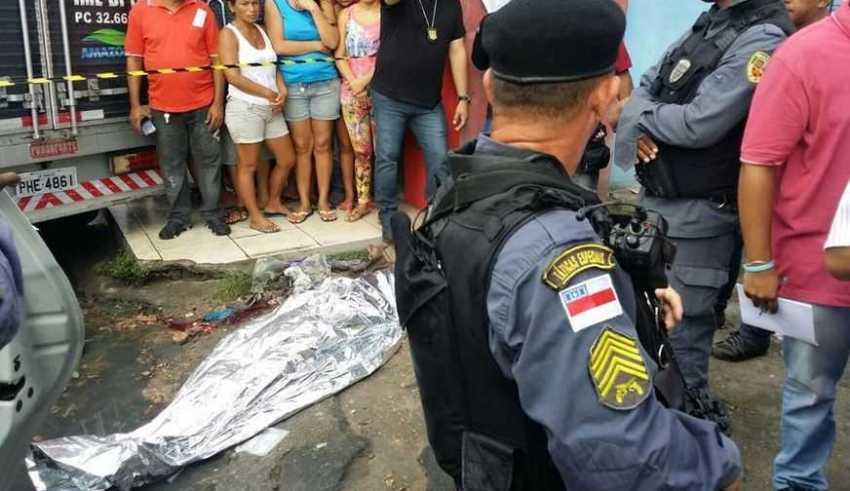 O caso foi registrado no 30° DIP. O policial está sendo ouvido Foto Jander Robson
