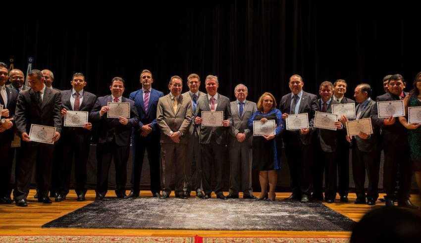 Diplomação dos vereadores da 17ª legislatura Foto: Tiago Corrêa - DIRCOM/CMM
