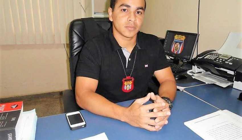 Thyago Garcez estava no município cobrindo férias do delegado titular – foto: divulgação
