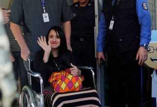 Ximena Suárez Otterburg, uma das únicas cinco sobreviventes do acidente com o avião da Chapecoense / Foto: Reprodução/Twitter