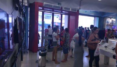 Suposto arrastão gera panico no centro de Manaus - Imagens via Whatsapp