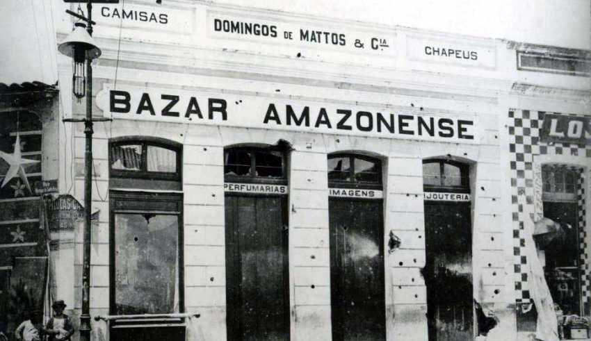 O prédio ainda existe, Rua dos Barés Nº1
