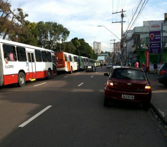 Tarde de protestos gera caus em Manaus, T1 - Imagem: No Amazonas é Assim