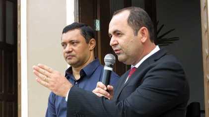 Jean Robson (PT) e Normando Bessa (PMN) / Foto : No Amazonas é Assim